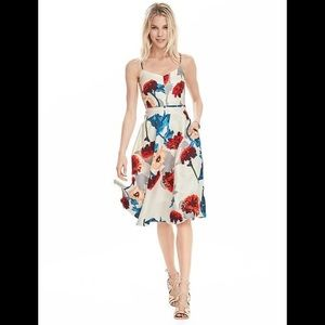 Banana Republic floral strappy dress